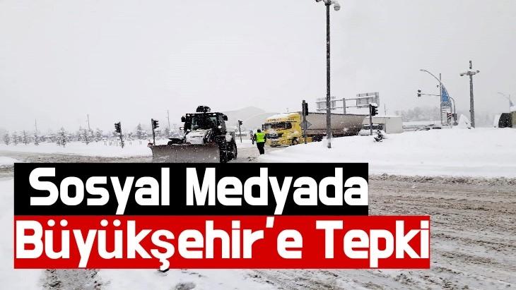 Sosyal Medyada Büyükşehir'e Tepki