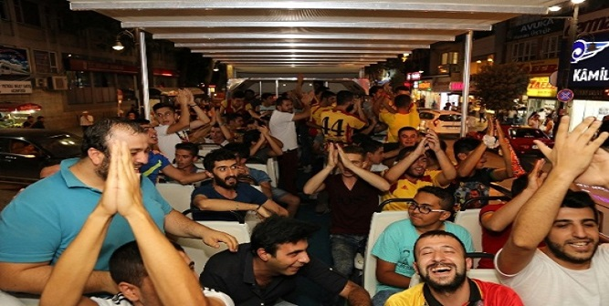 Yeni Malatyaspor Taraftarından İlginç Destek