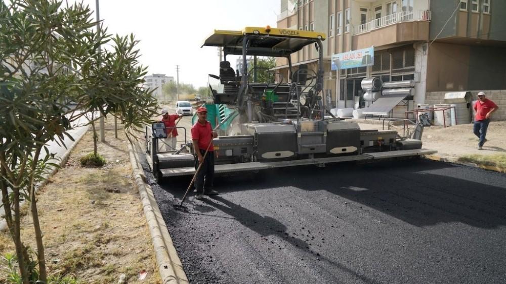 2. Çevreyolunda asfaltlama çalışmaları sürüyor