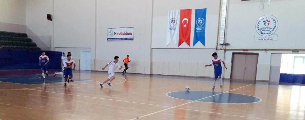 Futsalda çeyrek final heyecanı