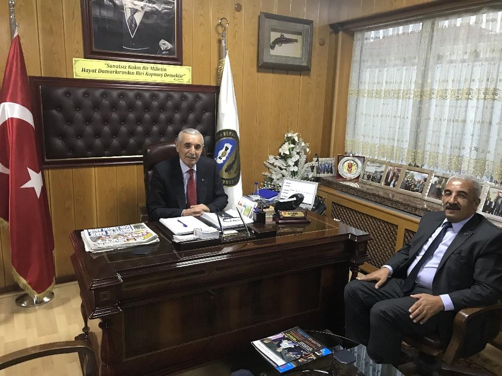 Malatya TCDD 5. Bölge Müdürü Ülker'in emekliye ayrılması