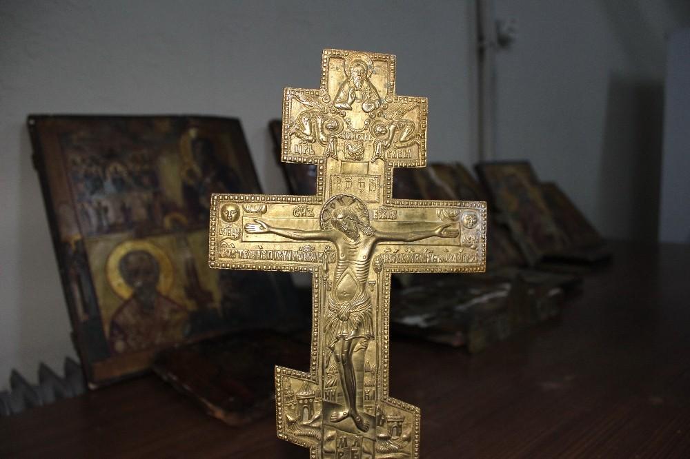 Kiliseden çalınan tarihi eserler Adıyaman'da ele geçirildi