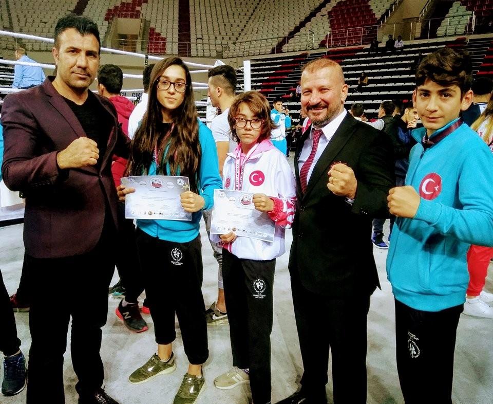Malatya Muay Thai takımı Avrupa Şampiyonasından dereceyle döndü