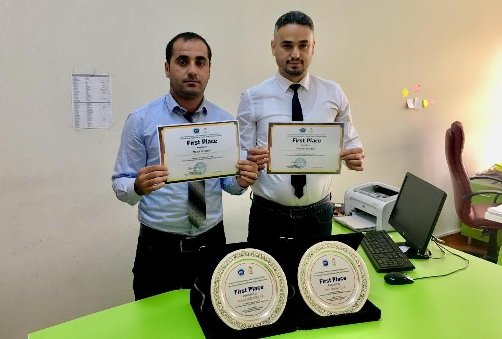 Enes Osman Aba ve ekibinin sunumu yarışmada birinci oldu