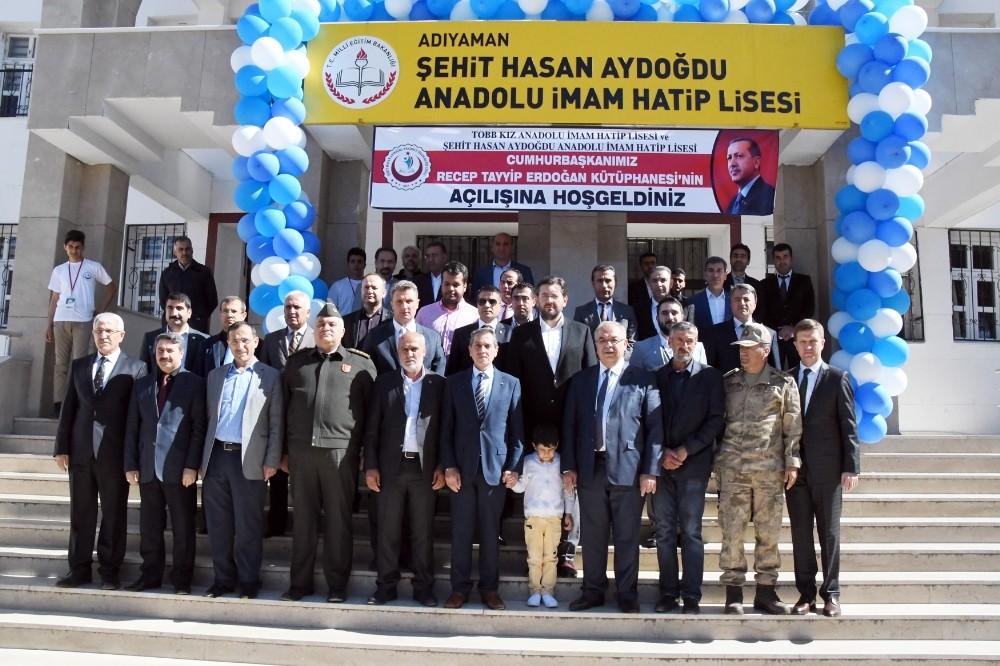 Cumhurbaşkanı Recep Tayyip Erdoğan Kütüphanesi açıldı