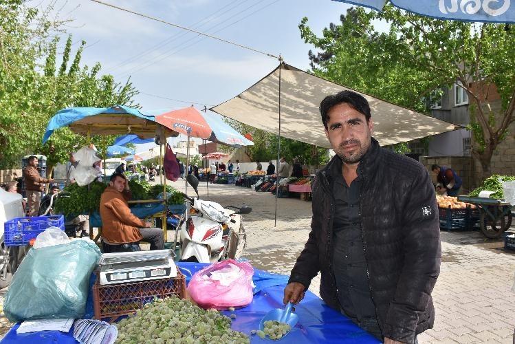 Kahta'da seyyar semt pazarı uygulaması başladı