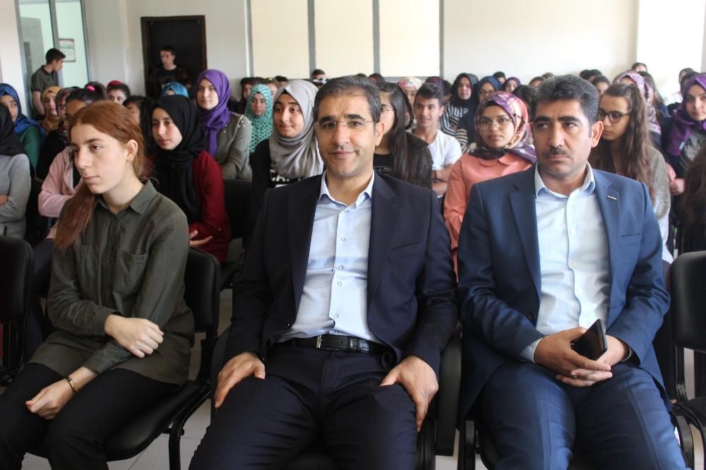 Kahta'da öğrencilere Kudüs sunumu