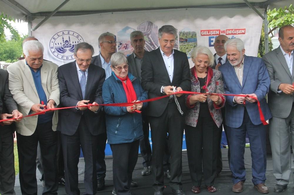 Elazığ'da, Prof.Dr. Nuran Yazıcıoğlu'nun ismi parka verildi