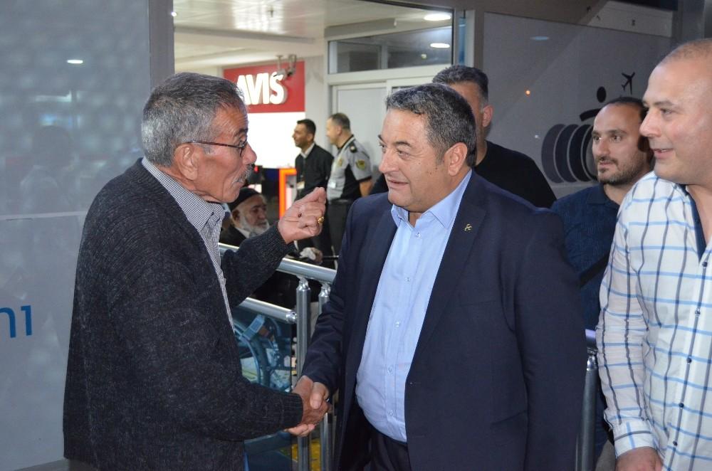 MHP'li Fendoğlu aday tanıtım toplantısından döndü