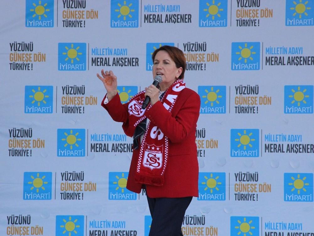"""Meral Akşener: """"Cumhurbaşkanı seçilince ilk işim Yazıcıoğlu olayını aydınlatmak olacak"""""""