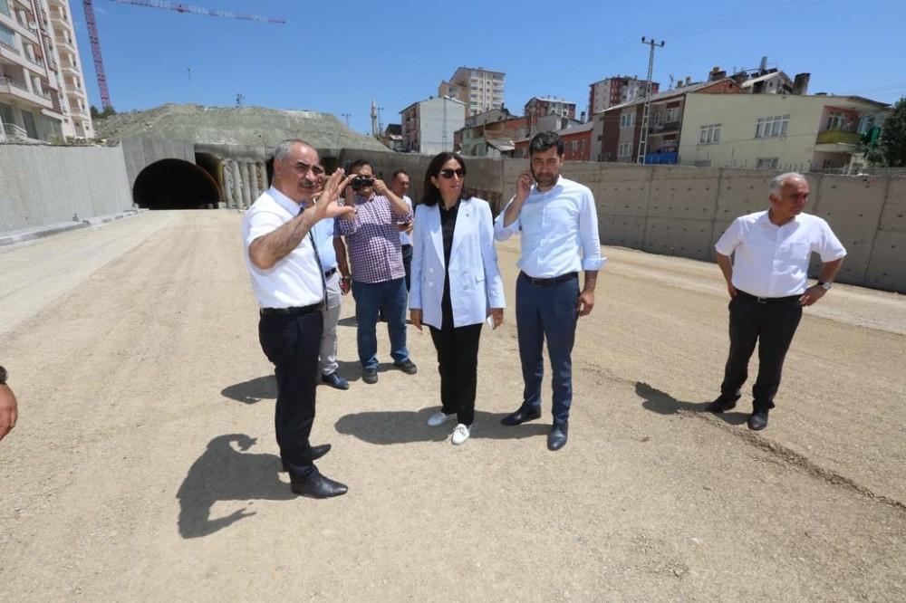 Mevlana Tüneli'nde asfaltlama çalışmaları başladı
