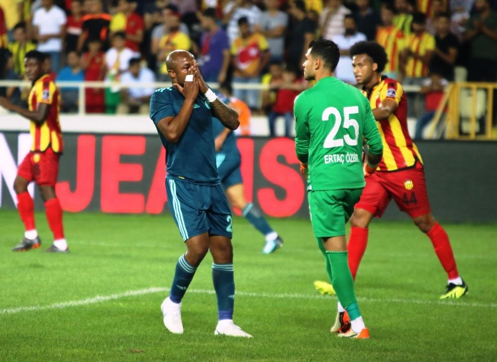 Spor Toto Süper Lig: Evkur Yeni Malatyaspor: 0 - Fenerbahçe: 0 (İlk yarı)
