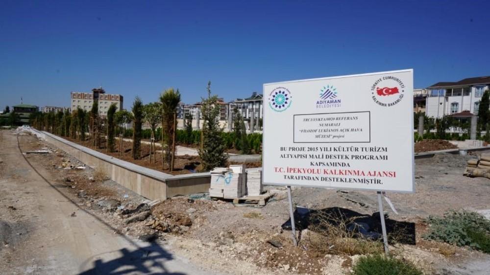 Lukianos Parkı mevsim sonuna kadar tamamlanacak