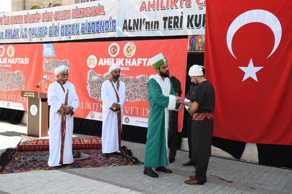 Adıyaman'da Ahilik Haftası kutlamaları başladı