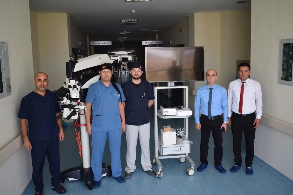 Besni'de ameliyatlar son teknolojik mikroskobik cihaz ile yapılacak