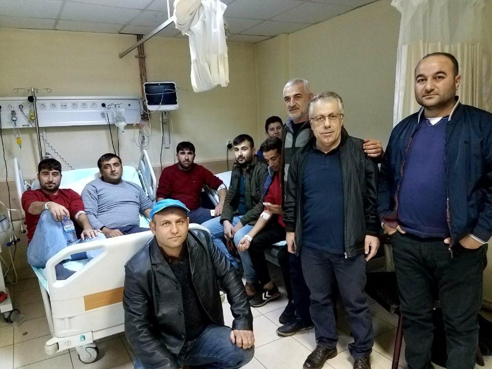 Kahramanmaraş'ta 30 işçinin yemekten zehirlendiği iddiası