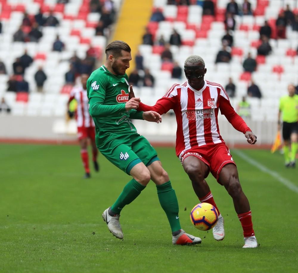 Spor Toto Süper Lig: DG Sivasspor: 0 - Çaykur Rizespor: 0 (İlk yarı)