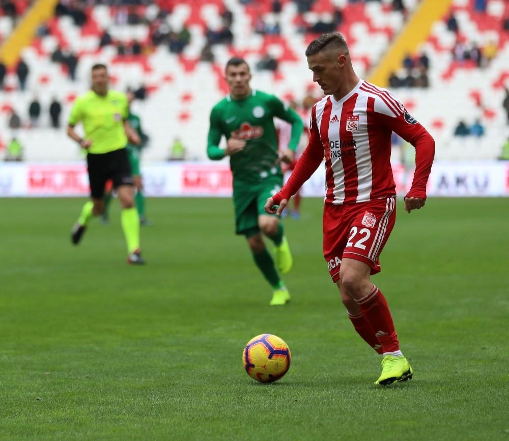 Spor Toto Süper Lig: DG Sivasspor: 1 - Çaykur Rizespor: 1 (Maç sonucu)