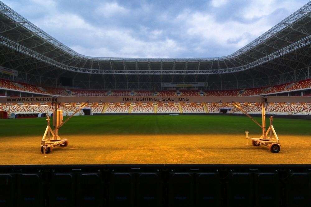 Malatya Stadyumu'nun zemin ve saha kalitesi denetime alındı