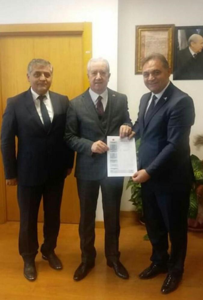MHP Gürün Belediye Başkanı Çiftçi yeniden aday gösterildi