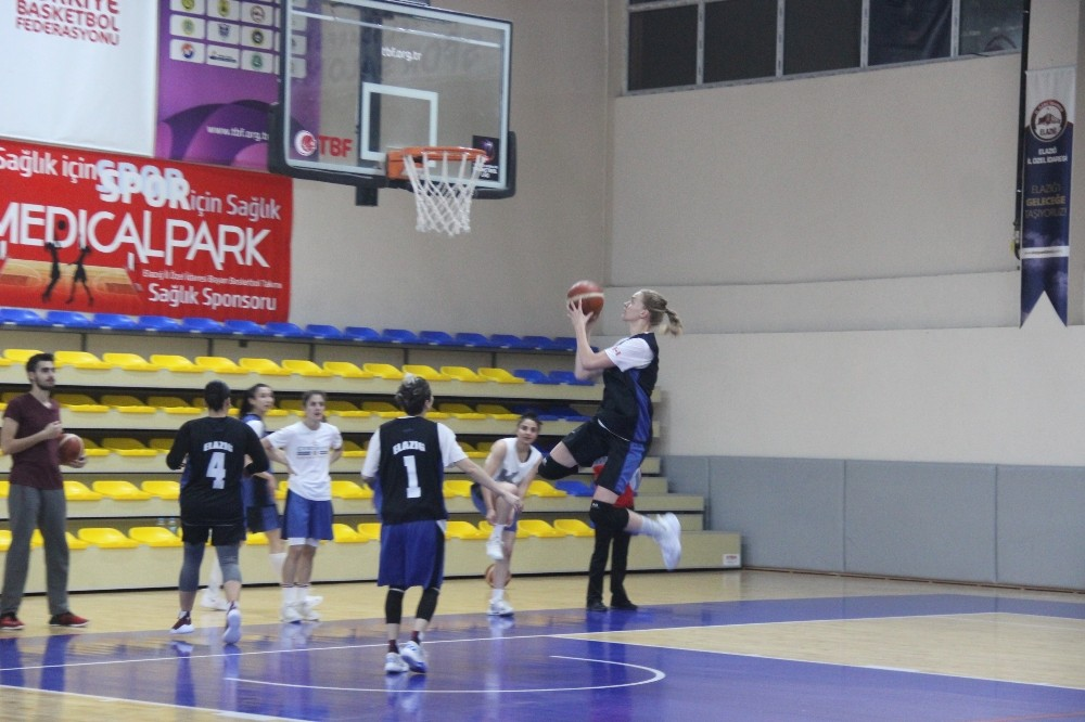(Özel haber) Basketbolda Elazığ'ın kızları Süper Lig istiyor