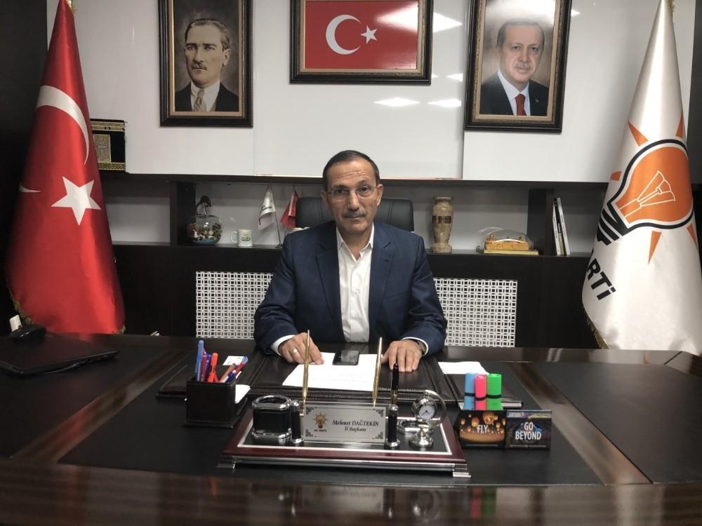 Başkan Dağtekin'den asgari ücret açıklaması