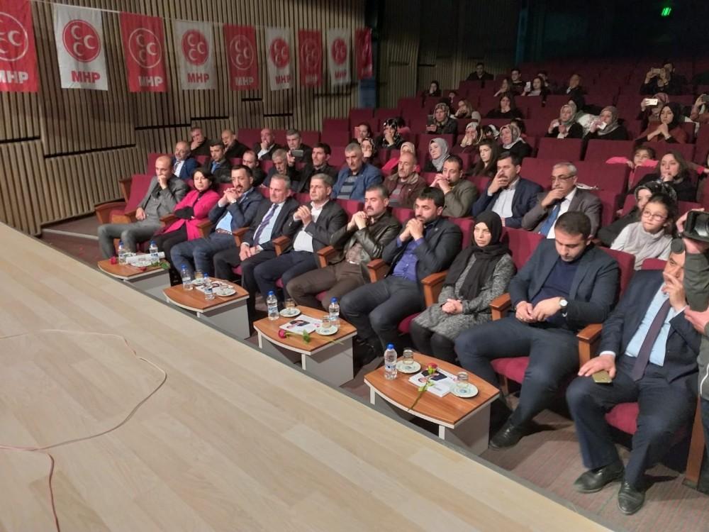 MHP'li kadınlardan Kadınlar Gününe özel etkinlik
