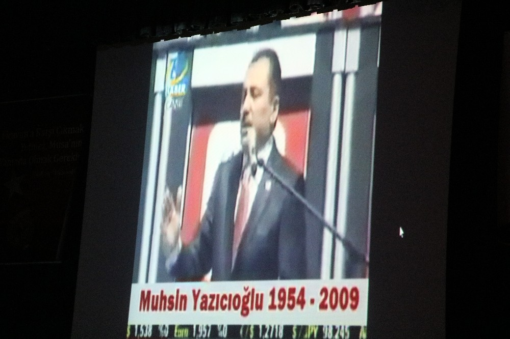 Muhsin Yazıcıoğlu Kahramanmaraş'ta anıldı