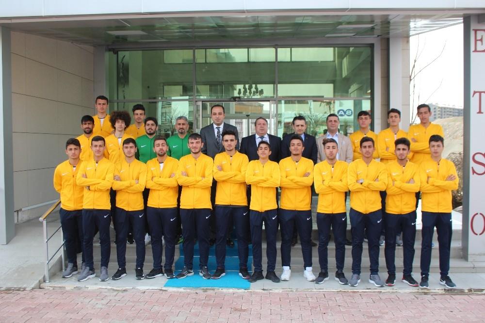 Türkiye şampiyonu takıma, Elazığ TSO'dan destek