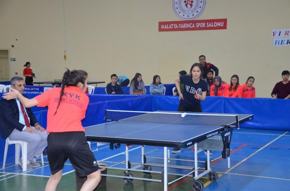 Yurtkur 24. Masa Tenisi Turnuvası Grup Elemeleri Müsabakaları