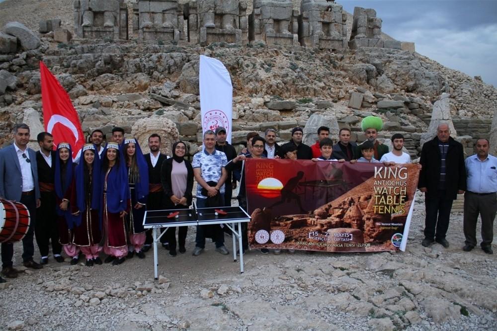 Nemrut Dağı'nda sportif etkinlik
