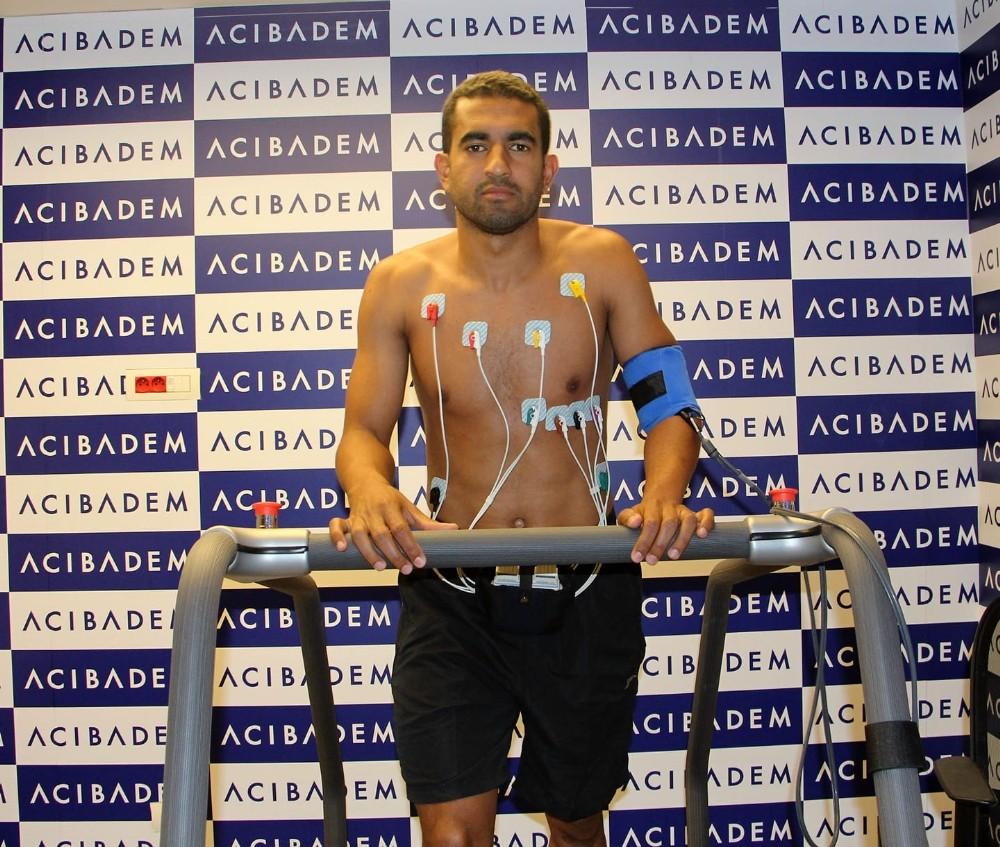 Marcelo Goiano, sağlık kontrolünden geçti