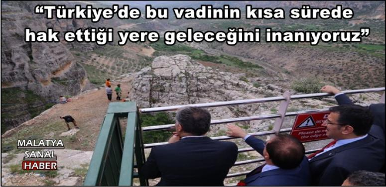 """""""Türkiye'de bu vadinin kısa sürede hak ettiği yere geleceğini inanıyoruz"""""""