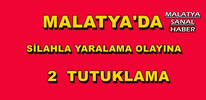 Malatya'da Silahla yaralama olayına 2 tutuklama