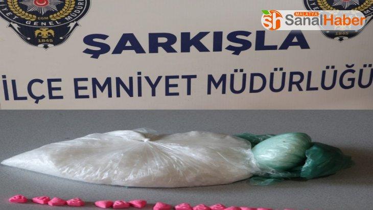 65 bin TL değerinde uyuşturucu madde ele geçirildi