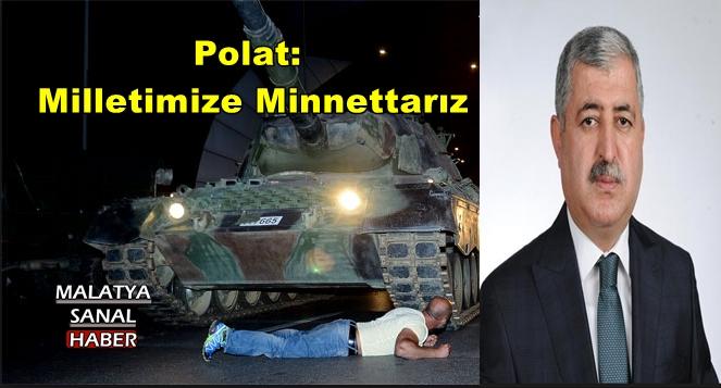 Polat,Milletimize Minnettarız
