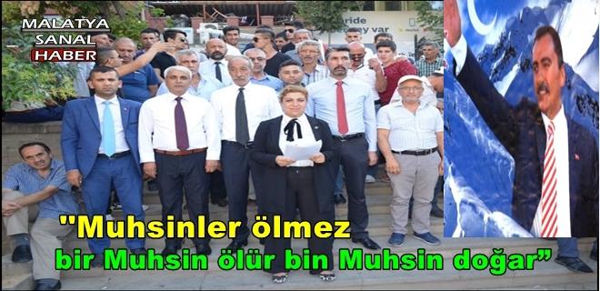 """""""Muhsin Yazıcıoğlu'nun ölümündeki bütün katillerin ve sorumluların bulunmasını istiyoruz"""""""