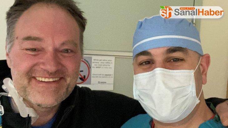 ABD'de Covid-19 hastası doktor deneysel tedaviyle hayata tutundu
