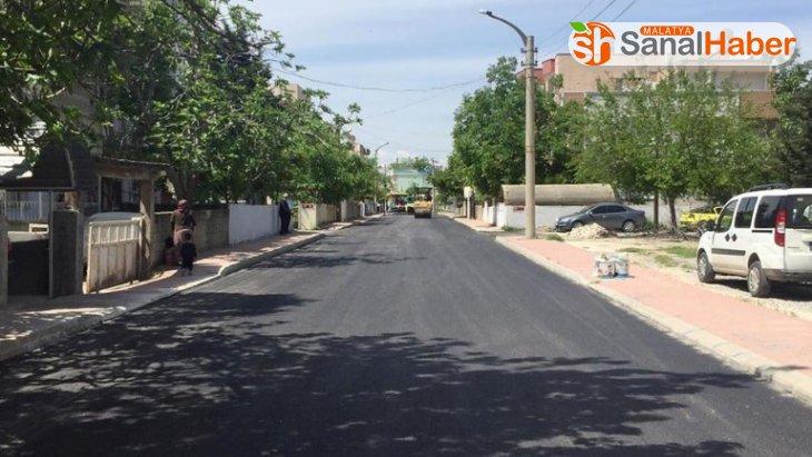 Adıyaman Belediyesi asfalt sezonunu açtı
