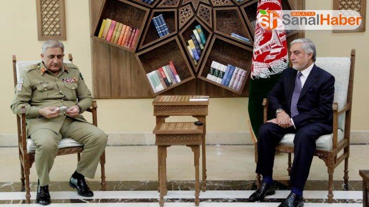 Afganistan Ulusal Yüksek Uzlaşma Konseyi Başkanı Abdullah, Pakistan Genelkurmay Başkanı ile görüştü