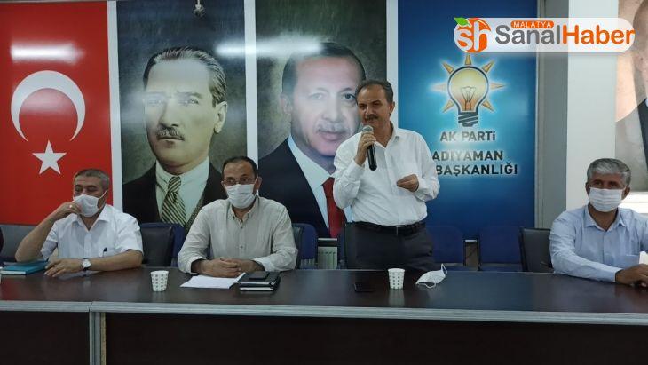 AK Parti toplantısında Adıyaman tütünü konuşuldu