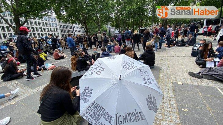 Almanya'da Floyd cinayeti protestoları bugün de devam etti
