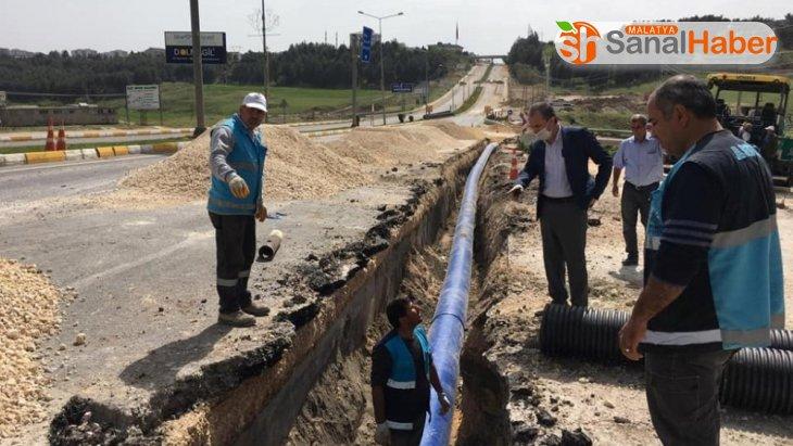 Altınşehir Mahallesinin içme suyu hattı yenilendi