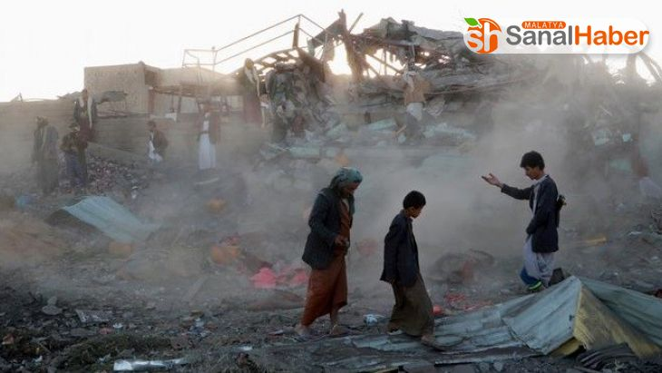 Arap Koalisyonu'ndan Yemen'e hava saldırısı: 24 ölü