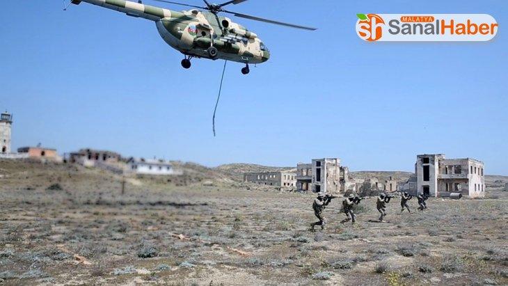Azerbaycan donanmasının Hazar Denizi'ndeki tatbikatı sona erdi