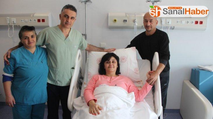 Azerbeycan'dan geldi Malatya'da sağlığına kavuştu