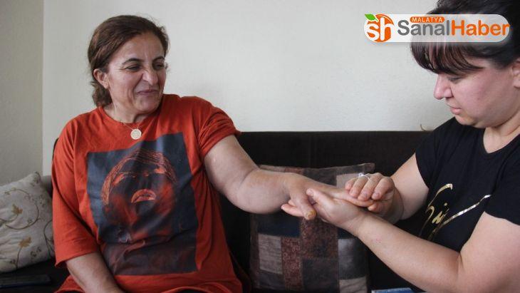 Bacağına yapışan keneyi koparan kadın, 25 günlük tedaviyle sağlığına kavuştu