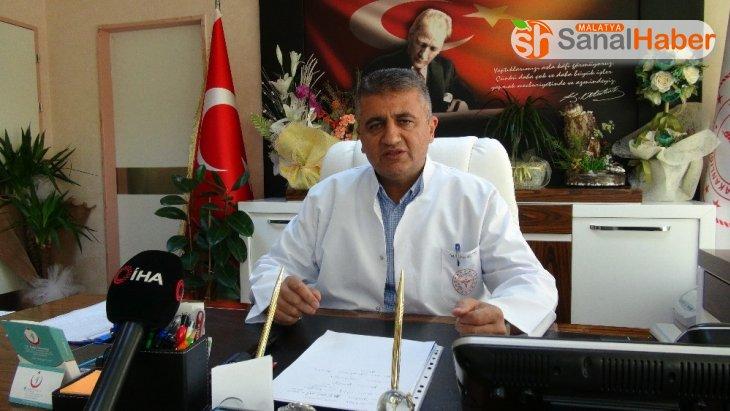Başhekim Aktürk'ten Malatya'ya Uyarı