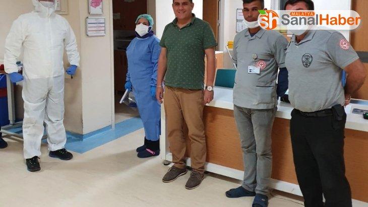 Başhekim Kuşağlı'dan hastalara bayram ziyareti