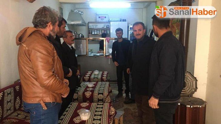 Başkan Kılınç'tan, eski şire pazarı esnafına ziyaret